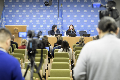 Press Conference by President of General Assembly