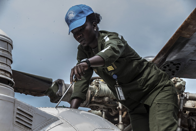 Air Force Squadron from Senegal Serving with MINUSCA