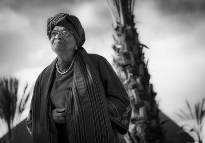 Former Liberian President Interviewed