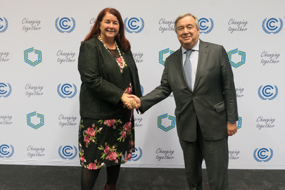 Secretary-General Meets Minister of Environment of Australia at COP24