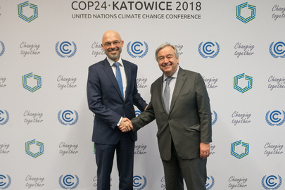 Secretary-General Meets President of COP24