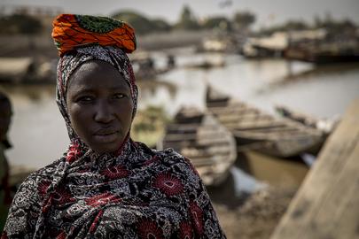 MINUSMA Patrols Konna Market in Mali