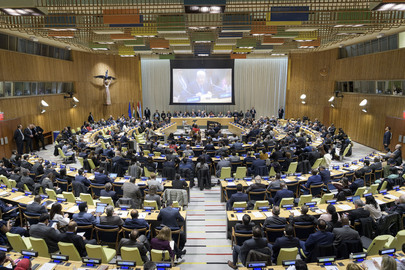 Egypt Hands Over Chairmanship of G77 to State of Palestine