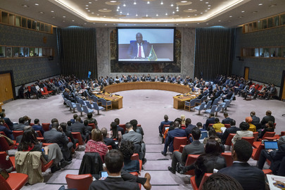 Security Council Considers Threats to International Peace and Security