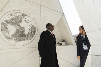 President of Equatorial Guinea visits Ark of Return
