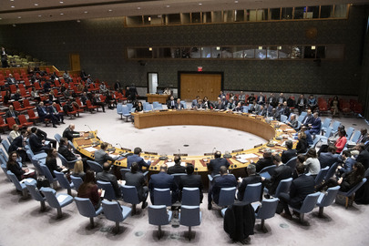 Security Council Meets on Threats to International Peace and Security Caused by Terrorist Acts