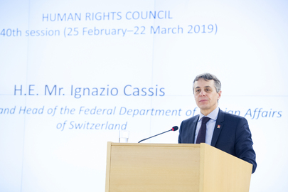 Opening of 40th session of Human Rights Council