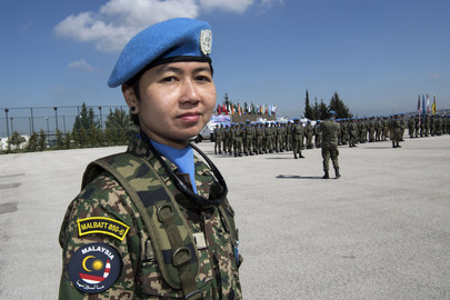 UNIFIL Peacekeepers Receive Medals