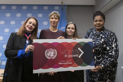 Press Briefing on High-Level Event on 'Women in Power'