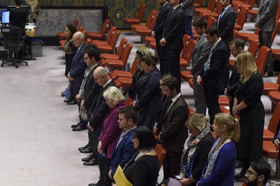 Security Council Observes Moment of Silence for Victims of Attack in New Zealand
