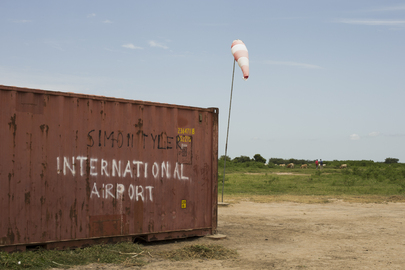 Airstrip in Leer, South Sudan