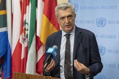 UN High Commissioner for Refugees Address Media
