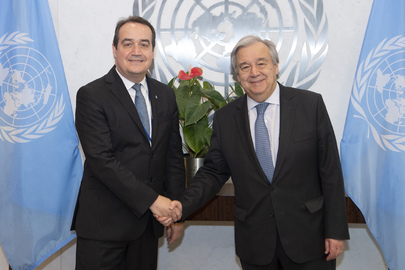 Secretary-General Meets Executive Director of Green Climate Fund