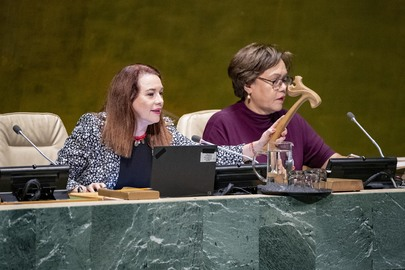 General Assembly Hears Report of Fifth Committee