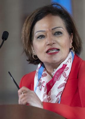 Senior Humanitarian Adviser to UN Special Envoy for Syria Briefs Press