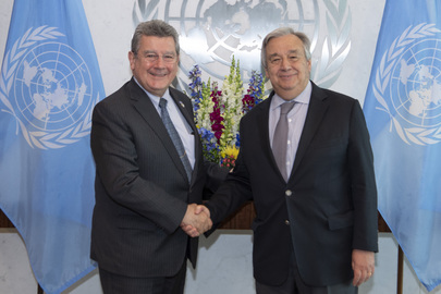 Farewell Call by Permanent Representative of Uruguay