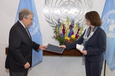 New Permanent Observer of European Public Law Organization Presents Credentials