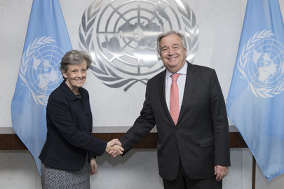 Secretary-General Meets Special Representative on Violence Against Children