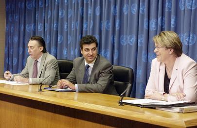 Press Conference on Terrorism