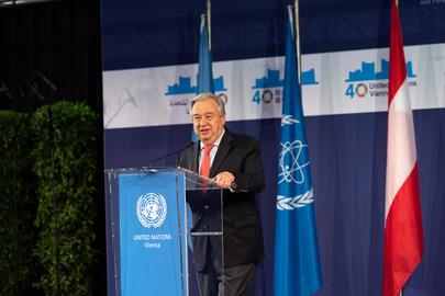Secretary-General Visits Vienna
