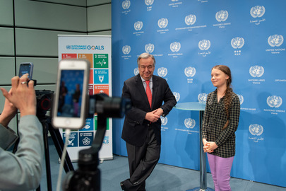Secretary-General Visits Vienna