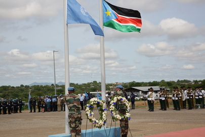 Commemoration of the International Day of UN Peacekeepers in South Sudan