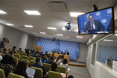 Press Briefing by President of Security Council for June