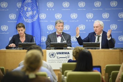 Press Briefing on UN Relief and Works Agency for Palestine Refugees (UNRWA)