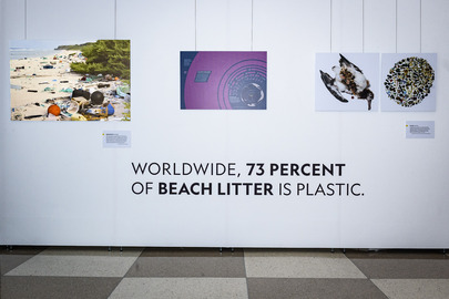 Exhibit Opening: Planet or Plastic?