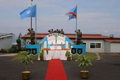 MONUSCO Observes International Day of UN Peacekeepers