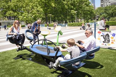 Inclusive Playground Exhibit at UN Headquarters