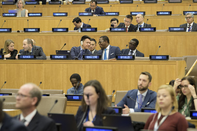 Meeting of States Parties to UN Convention on Law of the Sea