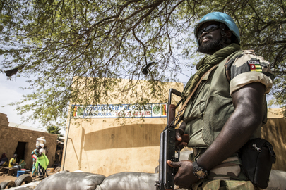 United Nations Police Patrol in Central Mali to Deter Attacks