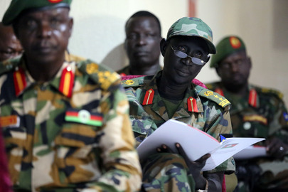 Launch of Action Plan for South Sudan People's Defense Forces