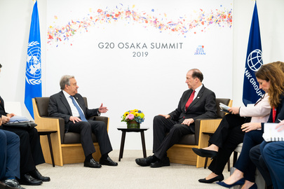 Secretary-General Attends G20 Summit in Osaka, Japan