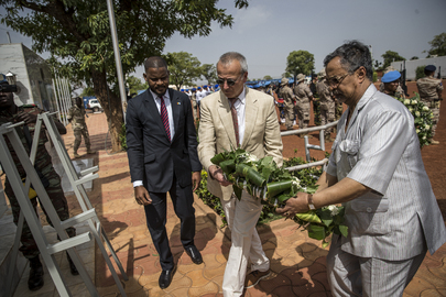 Chief of Peace Operations Visits Mali