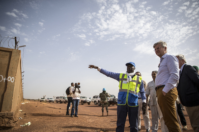 USG for Peace Operations Visits Mali