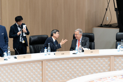 Secretary-General Attends G20 Session on Inequalities