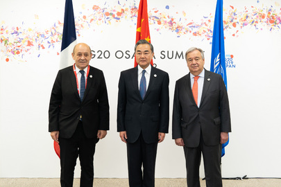 Climate Change Trilateral Meeting in Osaka