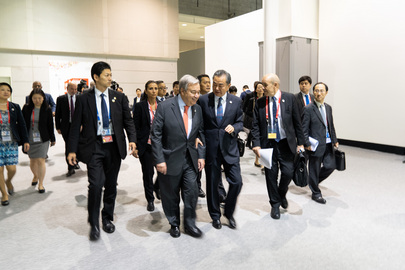 Climate Change Trilateral Meeting: UN, China and France