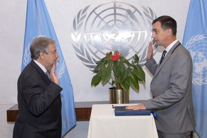 Secretary-General Swears in Under-Secretary-General for Safety and Security