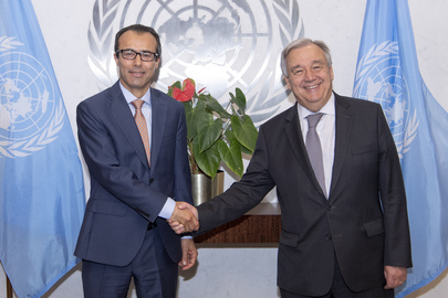 Secretary-General Swears in ASG for Middle East, Asia and Pacific