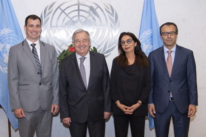 Secretary-General Swears in New Appointees