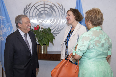 Swearing-in Ceremony for Senior UN Officials