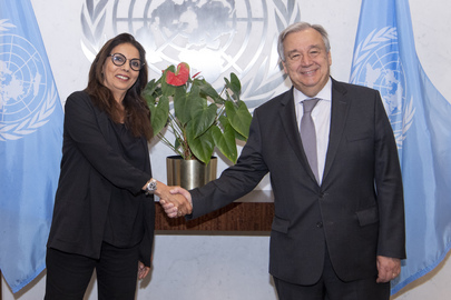 Secretary-General Swears in Special Representative on Violence Against Children