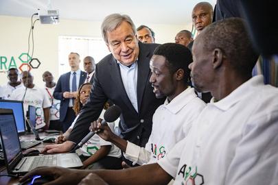 Secretary-General Visits Kenya
