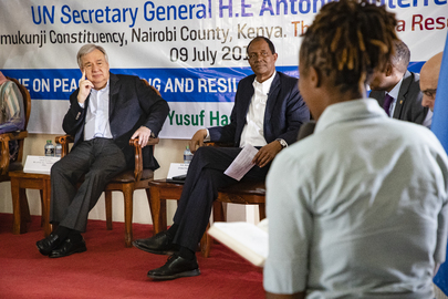 Secretary-General Visits Kenya