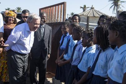 Secretary-General Visits Mozambique