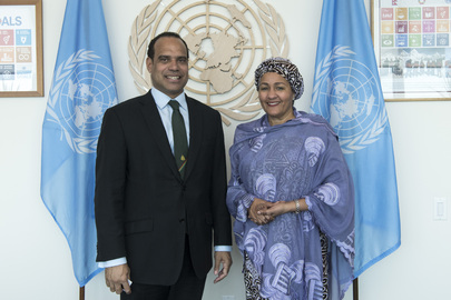 Deputy Secretary-General Meets Foreign Minister of Vanuatu