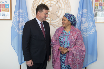Deputy Secretary-General meets Foreign Minister of Slovakia